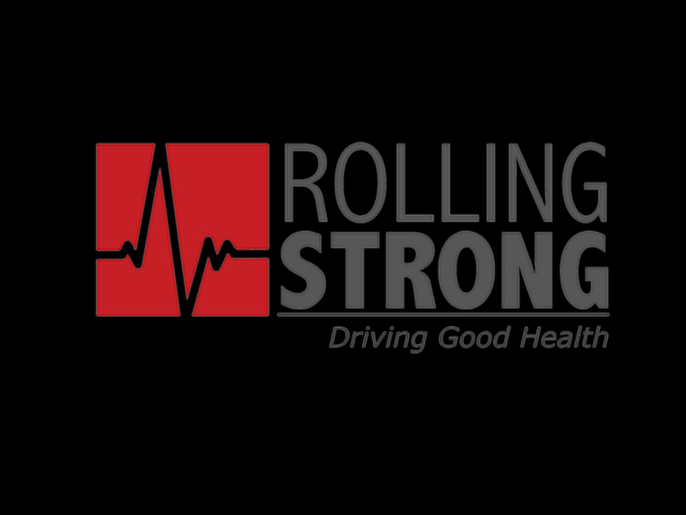 Logo reads rollling strong