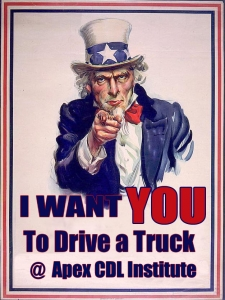 Uncle Sam Poster Wants You To Drive A Truck