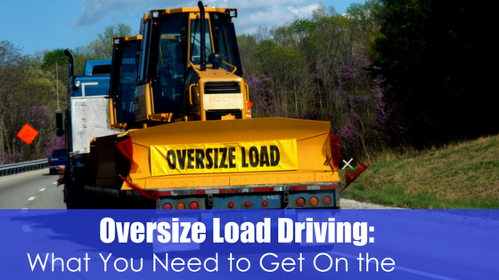 Oversize Load Driving Image