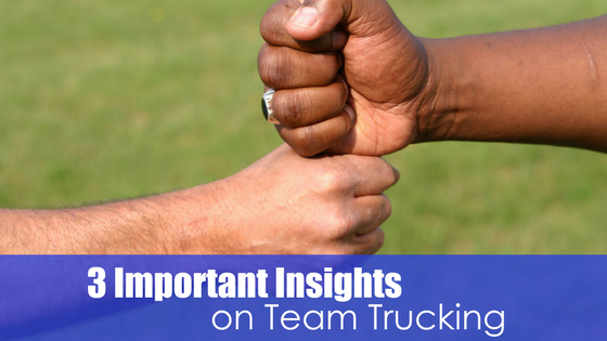 3 Important Insights on Team Trucking Image