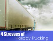 4 Stresses of Holiday Trucking Image