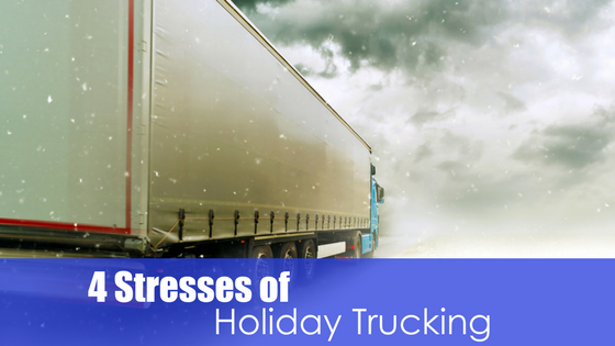 4 Stresses of Holiday Trucking Image