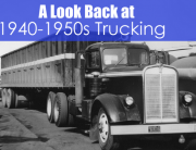 semi truck from the 1940s