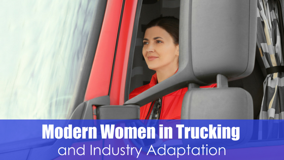 Modern Women in Trucking Image